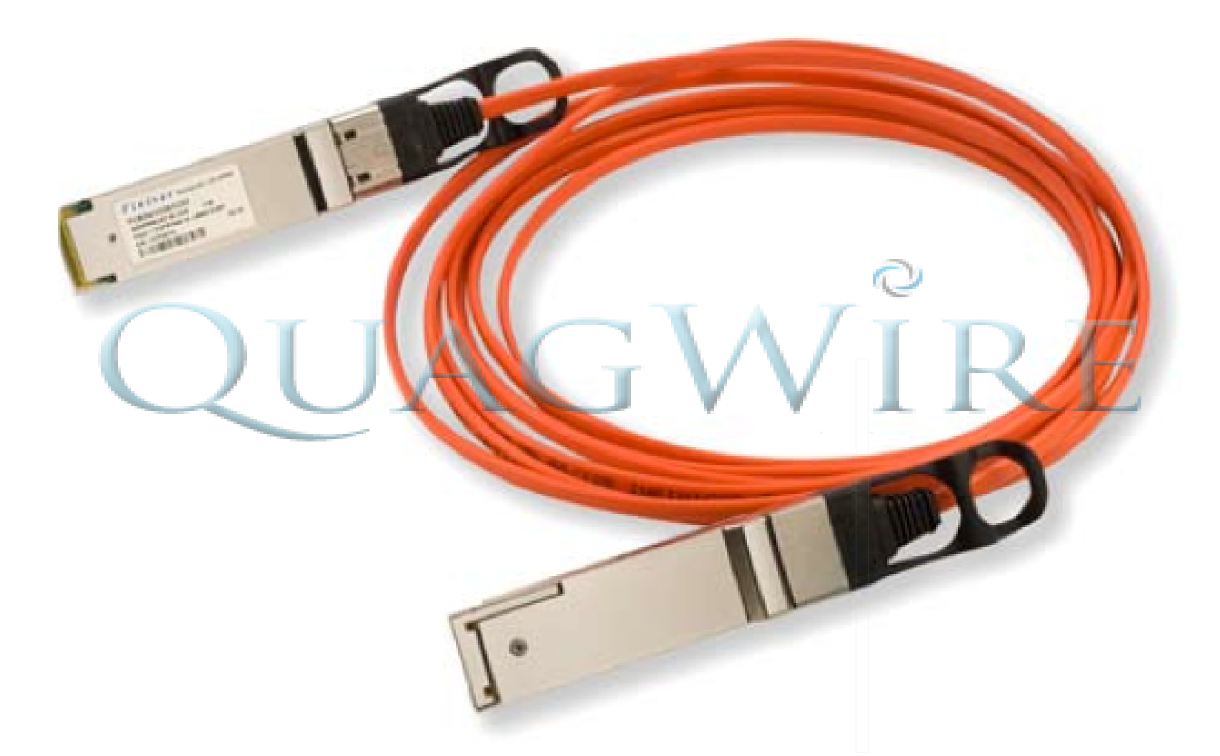 QUADWIRE Finisar 40Gb/s QSFP+ Active Optical Cable